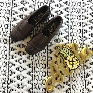 German Made Brown Loafers
